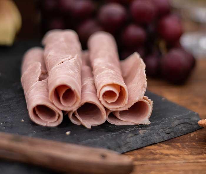Charcuteries cuites, viandes biologiques